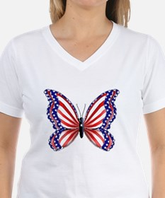 Patriotic Butterfly Shirt