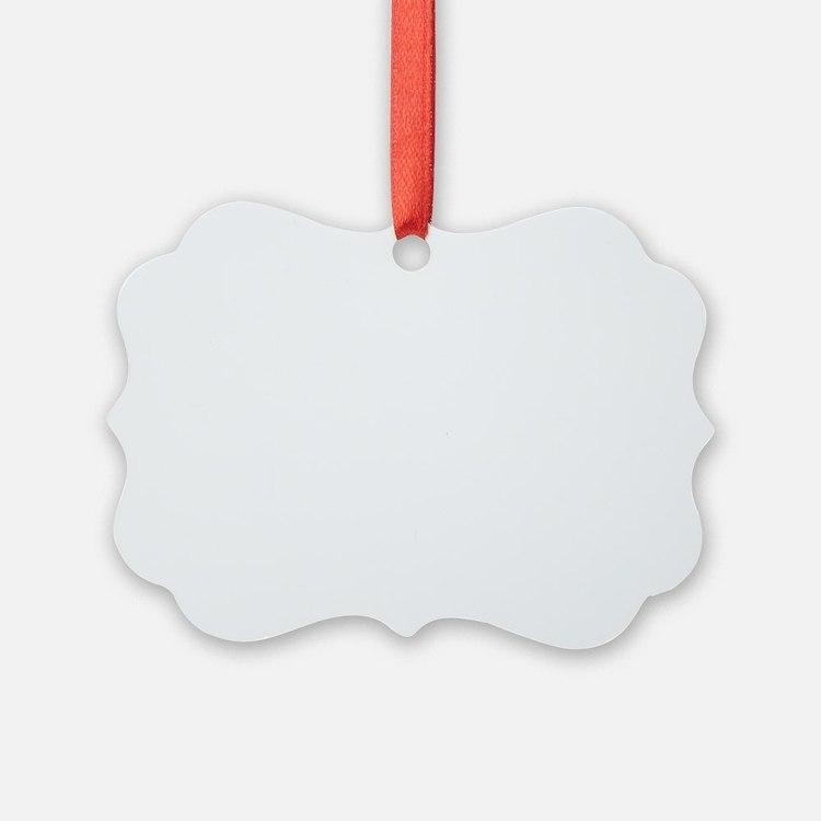 Dan BUll Logo by Louis Hudson whi Ornament