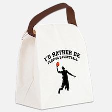 ratherbeBasketA3 Canvas Lunch Bag