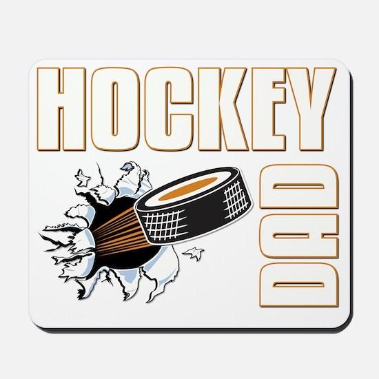hockeydad001-dark Mousepad