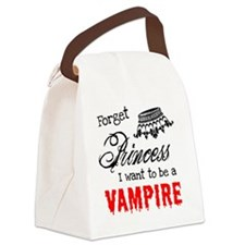 Princess Vampire Canvas Lunch Bag