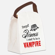 Princess Vampire Canvas Lunch Bag