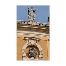 Historic baroque Kalocsa Cathe Decal