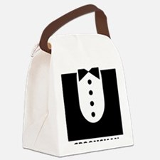 groomsman Canvas Lunch Bag