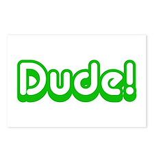 Green Dude! Slang Postcards (Package of 8)
