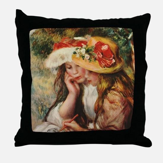 Renoir Throw Pillow