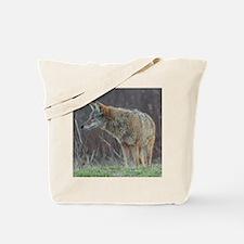 Wild Coyote Tote Bag