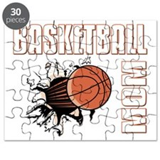 basketball_mom--dark Puzzle