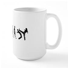 Evolution of Capoeira Ceramic Mugs