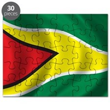 guyana_flag Puzzle