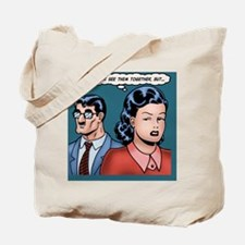 big-nose-hero-TIL Tote Bag