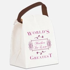 FramedMotherInLaw Canvas Lunch Bag