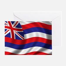 hawaii_flag Greeting Card