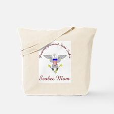 seabee mom Tote Bag