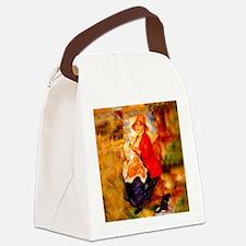 Nursing Mother Canvas Lunch Bag