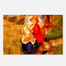 Nursing Mother Postcards (Package of 8)