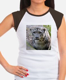 Snow Leopard 3 Women's Cap Sleeve T-Shirt