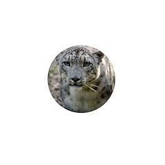 Snow Leopard 3 Mini Button (10 pack)