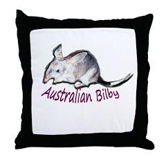 Australian Bilby Throw Pillow