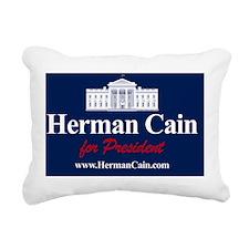 cain_banner2 Rectangular Canvas Pillow
