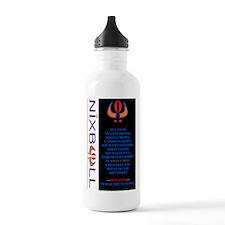 ANTISOCIAL MEDIA BLK 3 Water Bottle