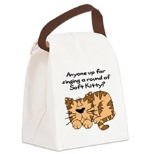 SoftKittyround Canvas Lunch Bag