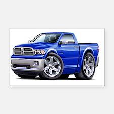 2010-12 Ram Blue Truck Rectangle Car Magnet