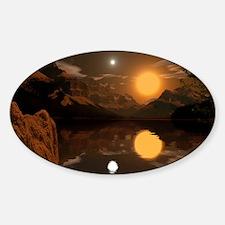 Sepphoris2066H Sticker (Oval)