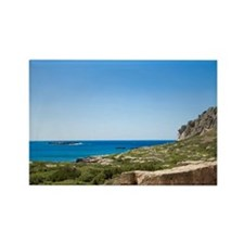 West Crete. Minoan Ruins of Ancie Rectangle Magnet