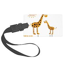 GiraffeLittleBrother Luggage Tag