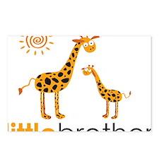 GiraffeLittleBrother Postcards (Package of 8)