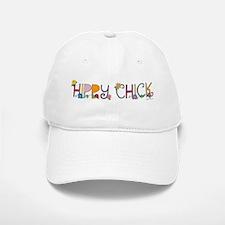 Hippy Chick Baseball Baseball Cap