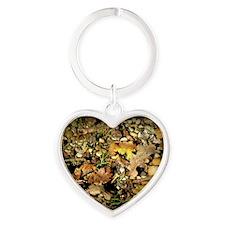 Leaves1635 Heart Keychain