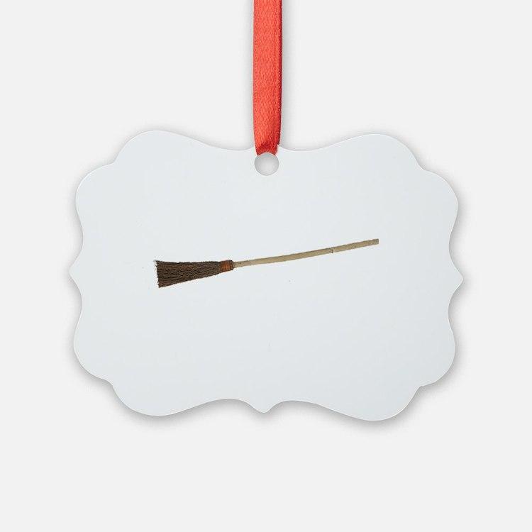 Drive a Stick - White Text Ornament