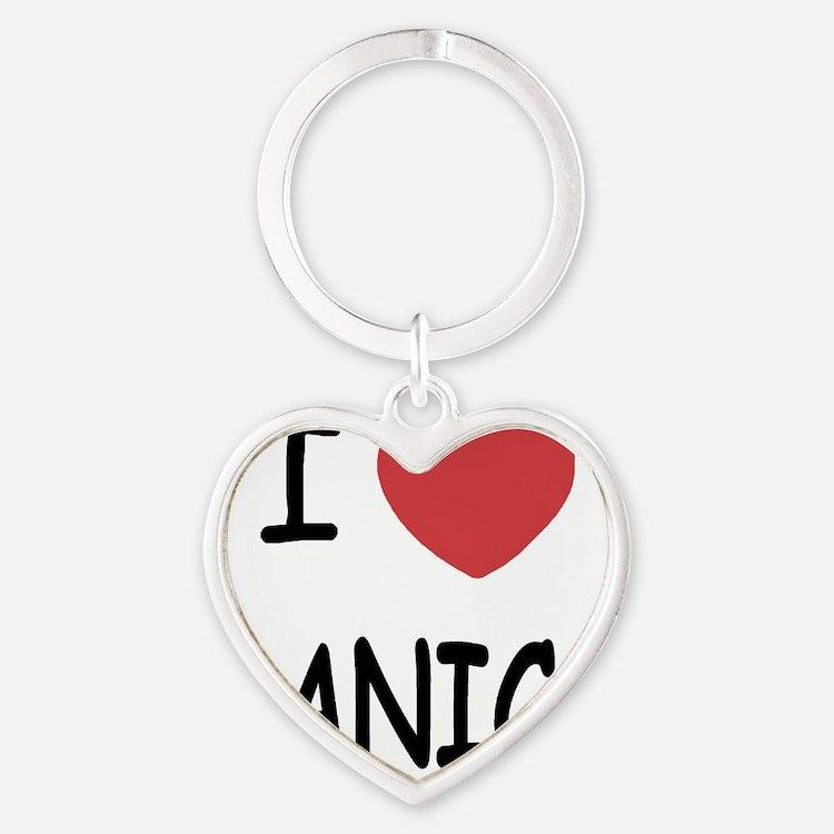 DANICA Heart Keychain