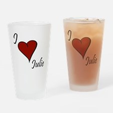 Julie.gif Drinking Glass