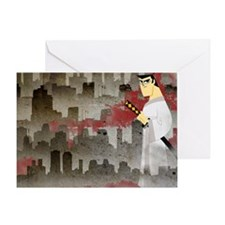 samurai jack Greeting Card