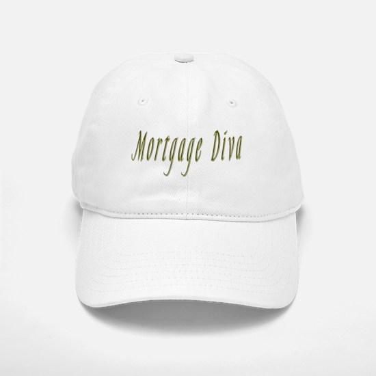 Mortgage Diva II Baseball Baseball Cap