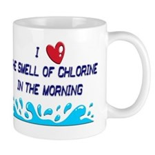 chlorine in the morning Mug