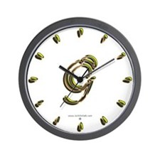 Phyllis Initial G Wall Clock