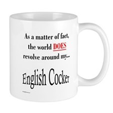 English Cocker World Coffee Mug
