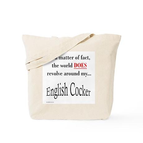 English Cocker World Tote Bag