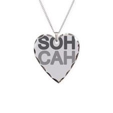 soh cah toa light Necklace Heart Charm