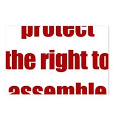 right_to_assemble Postcards (Package of 8)