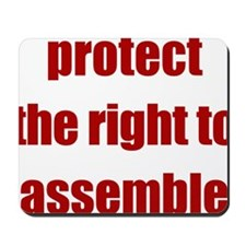 right_to_assemble Mousepad