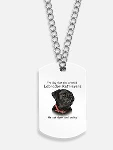 Black Lab Dog Tags