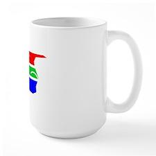TrackCyclingDesign SOUTH AFRICA White Mug