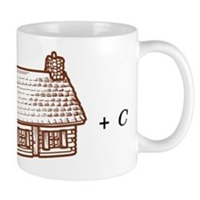 log(cabin) outline Mug