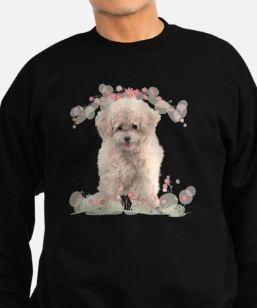 flowers2 Sweatshirt (dark)