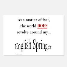 English Springer World Postcards (Package of 8)